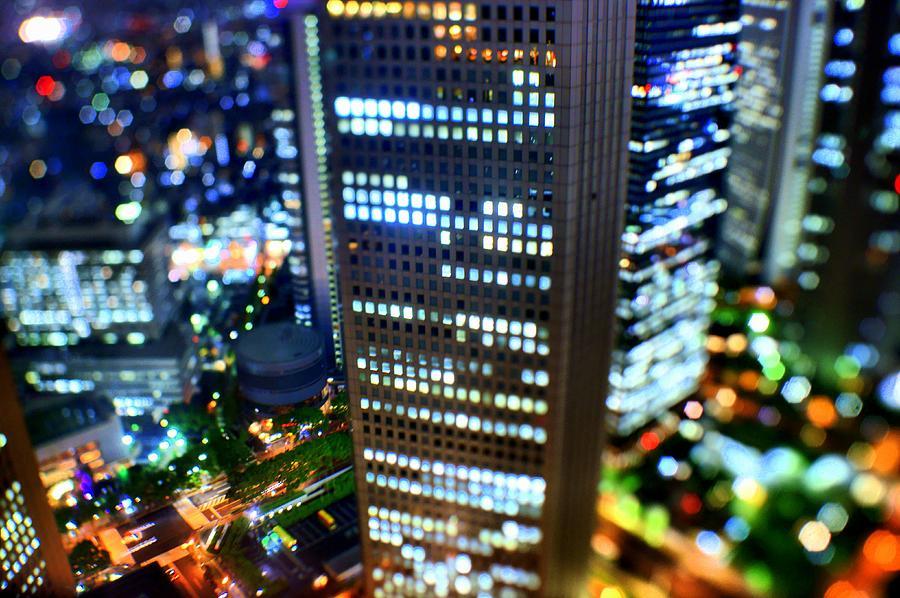 Shinjuku Photograph by Takashi Kitajima