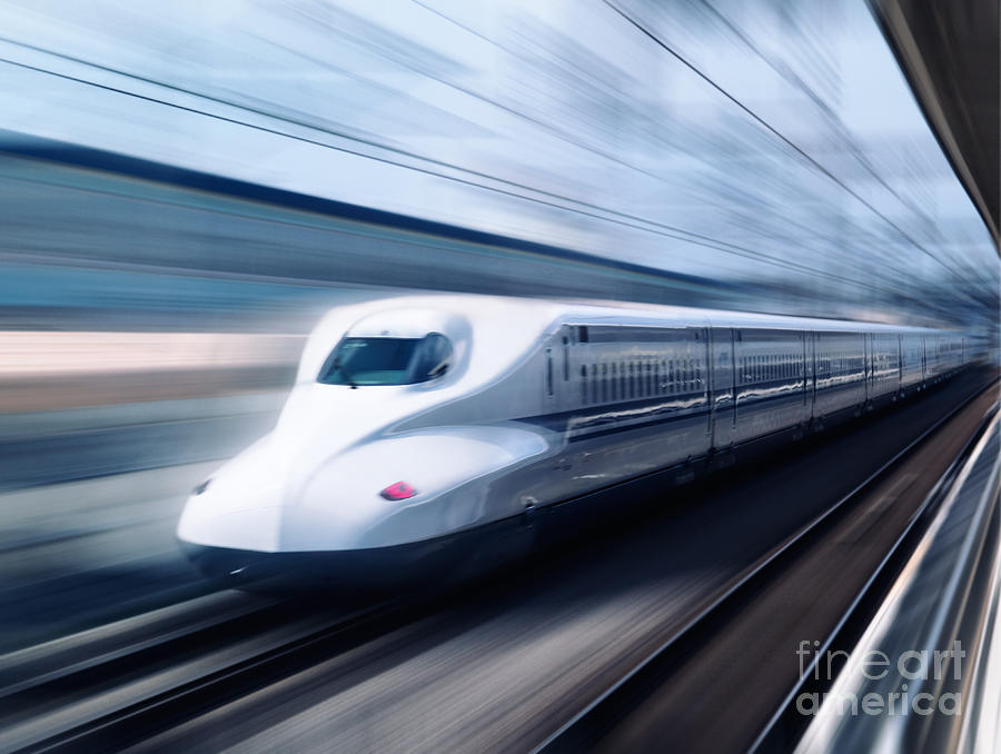Shinkansen High Speed Bullet Train N700 Series Photograph ...