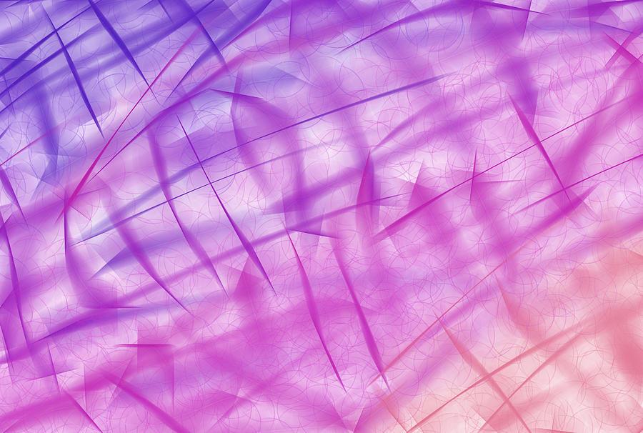 Shine Painting - Shiny Background by Krasimira Nevenova
