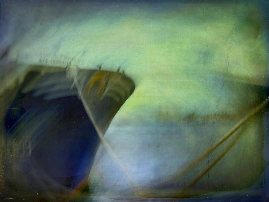 Digital Photograph - Ship #3 by Alfredo Gonzalez
