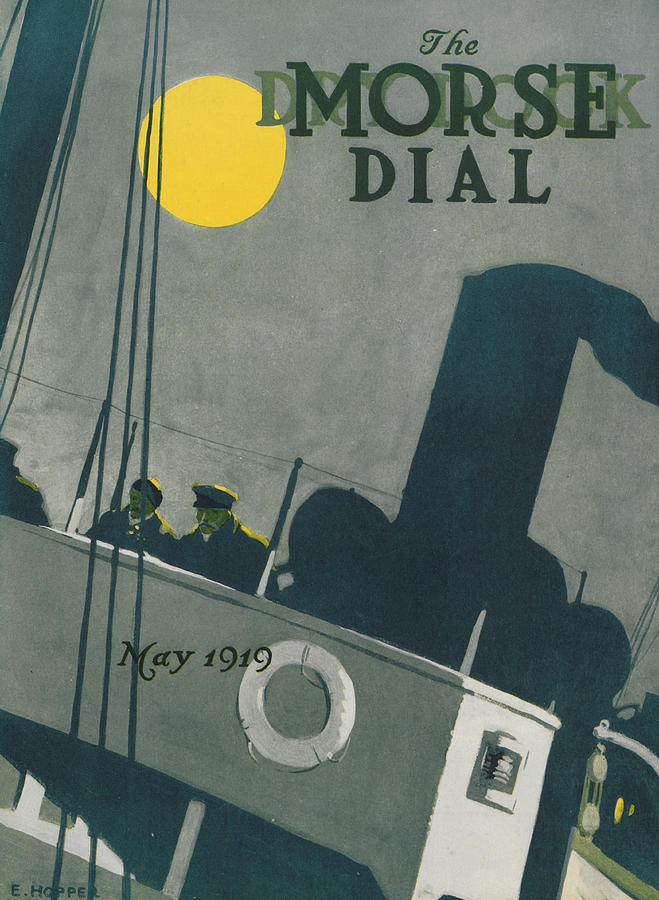 Edward Hopper Painting - Ship At Night by Edward Hopper