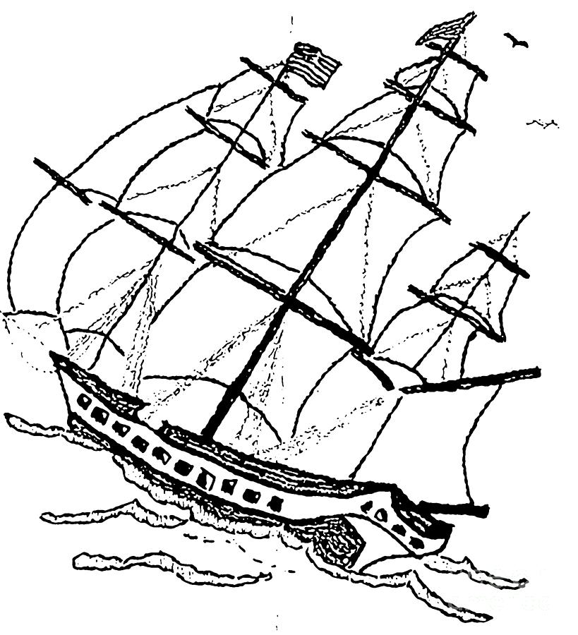 Ship Boat Revolutionary War Photograph By Susan Carella