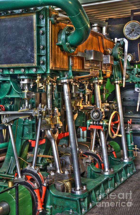 Heiko Photograph - Ship Engine by Heiko Koehrer-Wagner