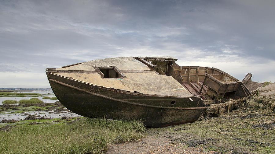 Rotting Photograph - Ship Shape by Nigel Jones