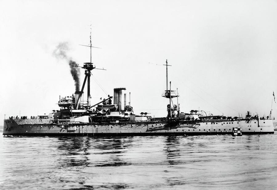 1907 Photograph - Ships Hms dreadnought by Granger