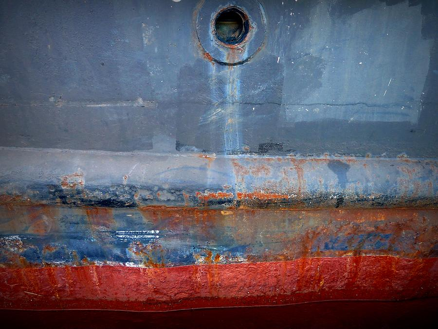 Tugboat Photograph - Shipside Abstract II by Patricia Strand