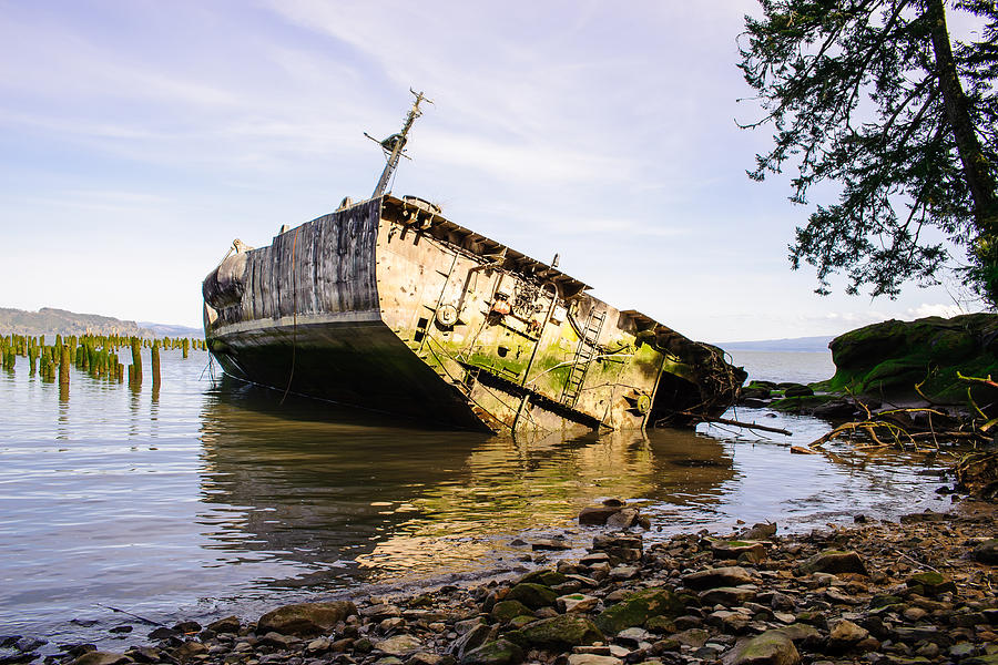 shipwreck of the uss plainview   columbia river