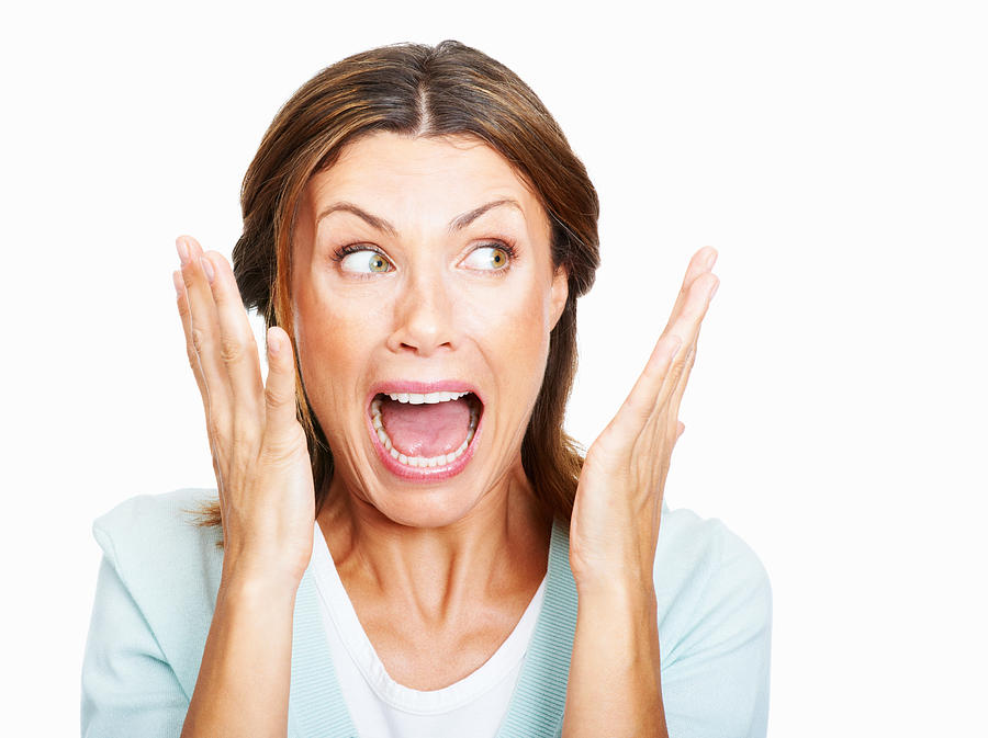Shocked! Photograph by GlobalStock