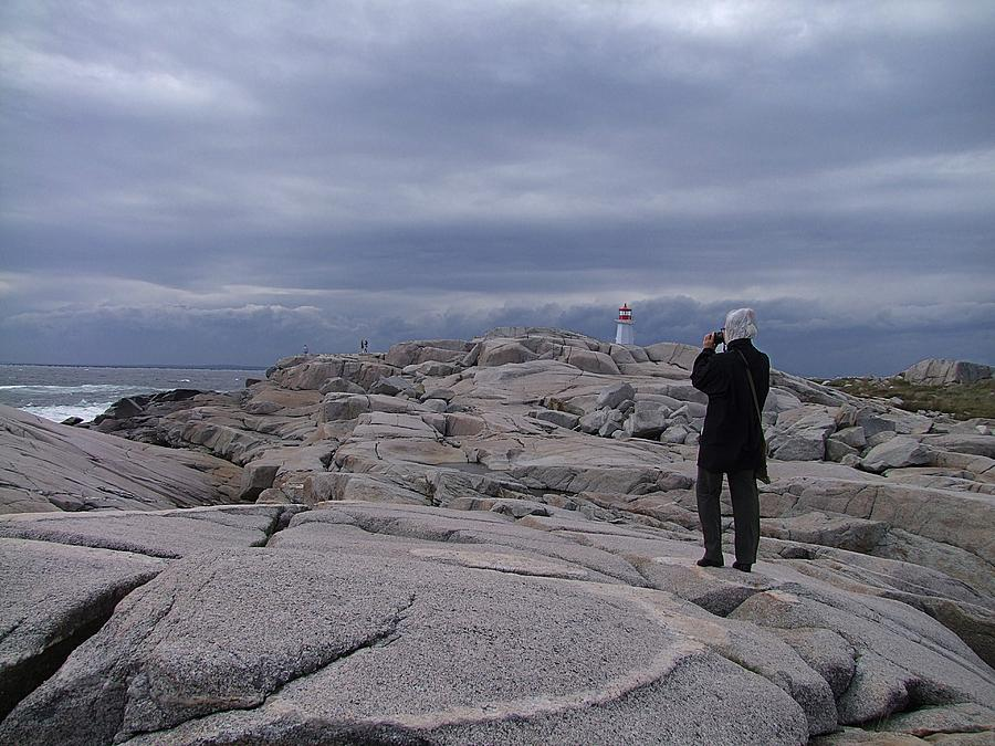 Nova Scotia Photograph - Shoot The Coming Storm by George Cousins