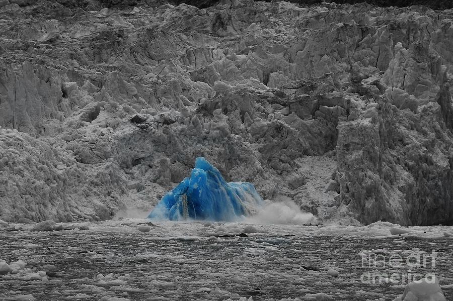 Glacier Photograph - Shooting Glacier by Camilla Brattemark