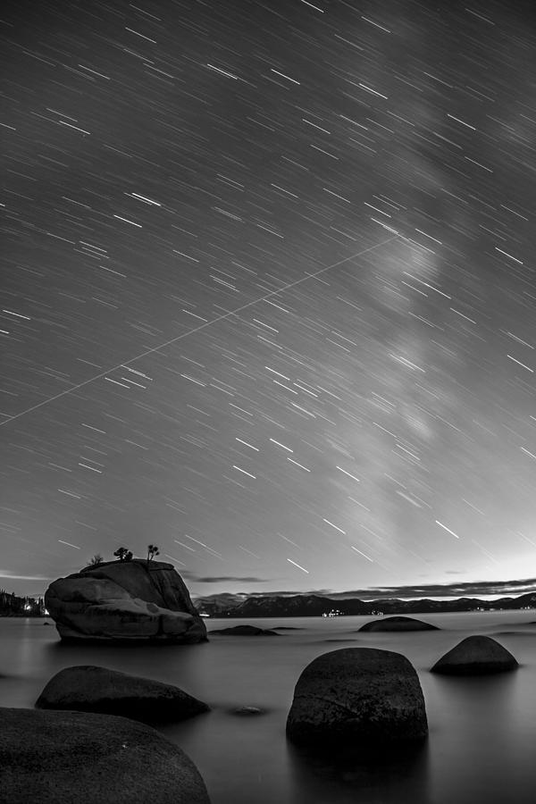 Bonsai Rock Photograph - Shooting Stars by Brad Scott