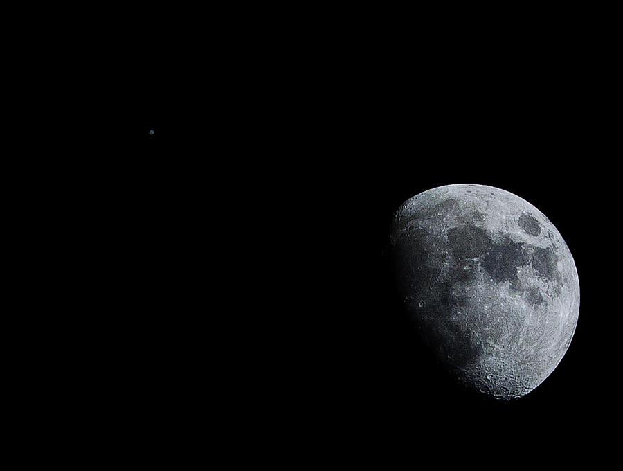 Shooting The Moon Photograph
