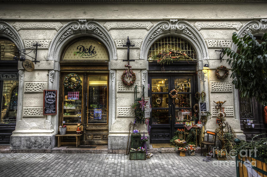 Budapest Photograph - Shop Window by Mohamed Rahmo