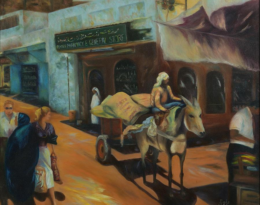 Shopping in the Souk by Douglas Ann Slusher