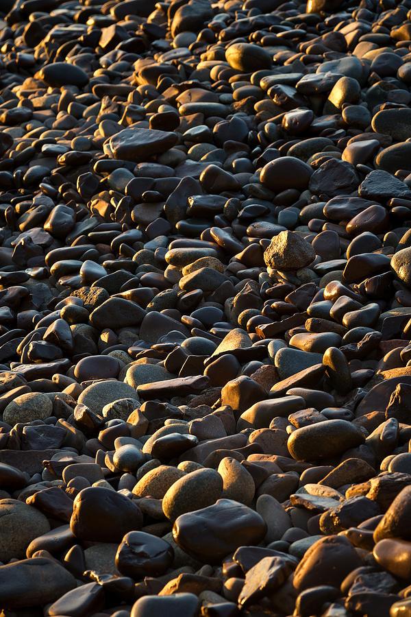 Stone Photograph - Shore Stones by Steve Gadomski