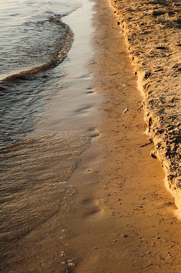 Water Photograph - Shoreline by BandC  Photography