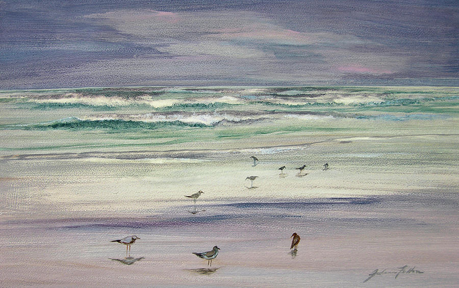 Shoreline Birds III by Julianne Felton