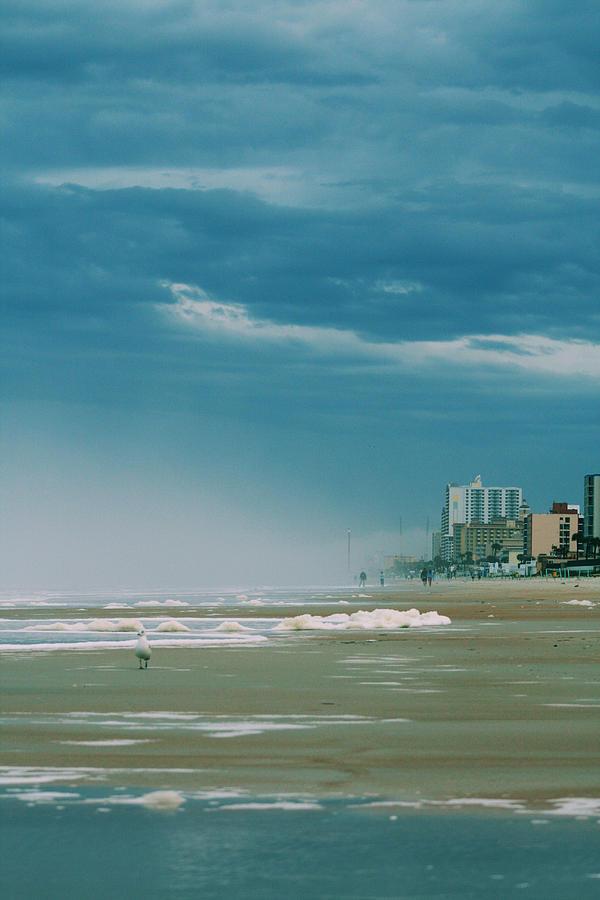 Daytona Photograph - Shoreline Daytona by Paulette Maffucci