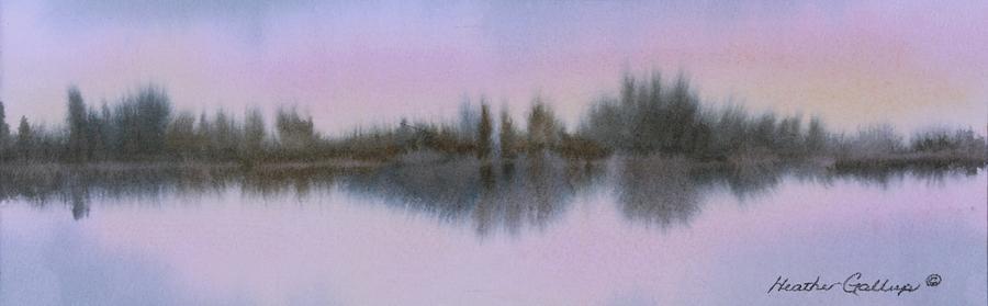 Shoreline Painting - Shoreline by Heather Gallup