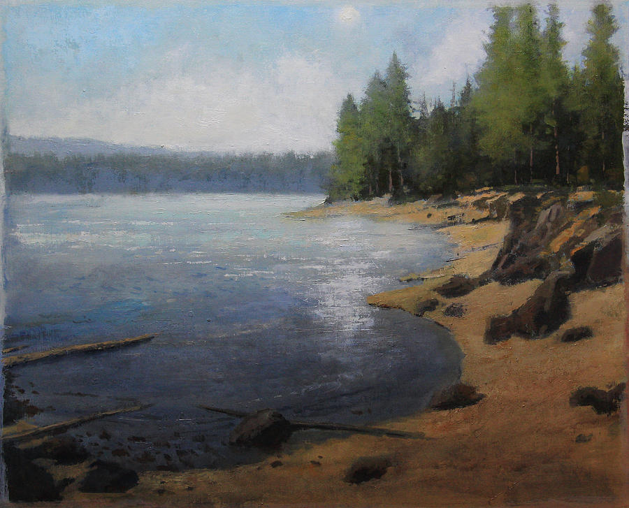 Shoreline Painting by Shanna Kunz