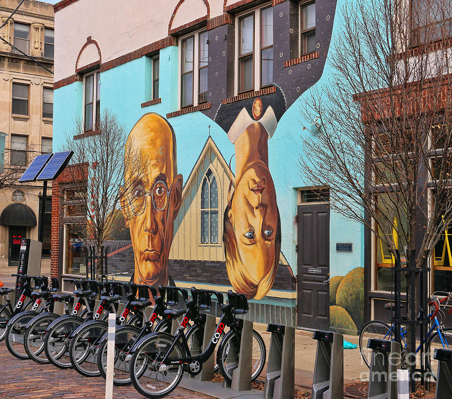 Short North Photograph - Short North Mural 4673 by Jack Schultz