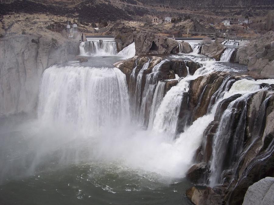 Shoshone Falls Photograph by Angela Stout