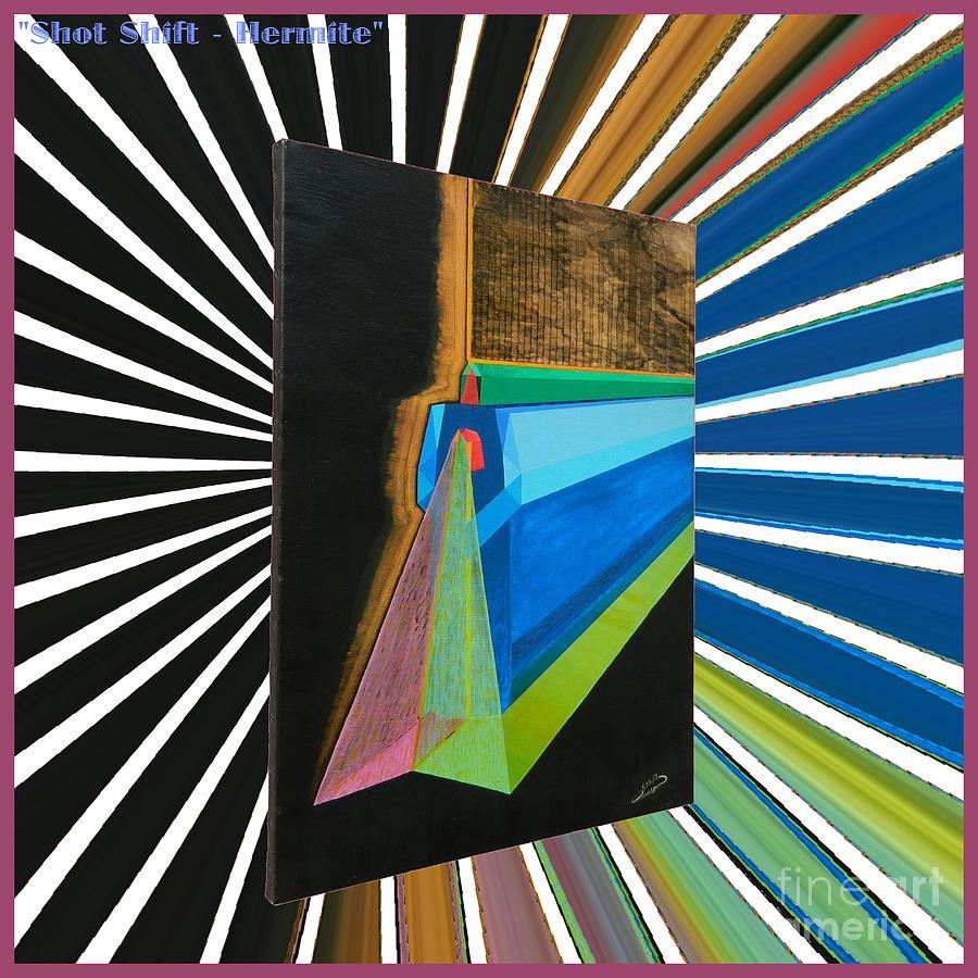 Shot Painting - Shot Shift - Hermite Variant by Michael Bellon