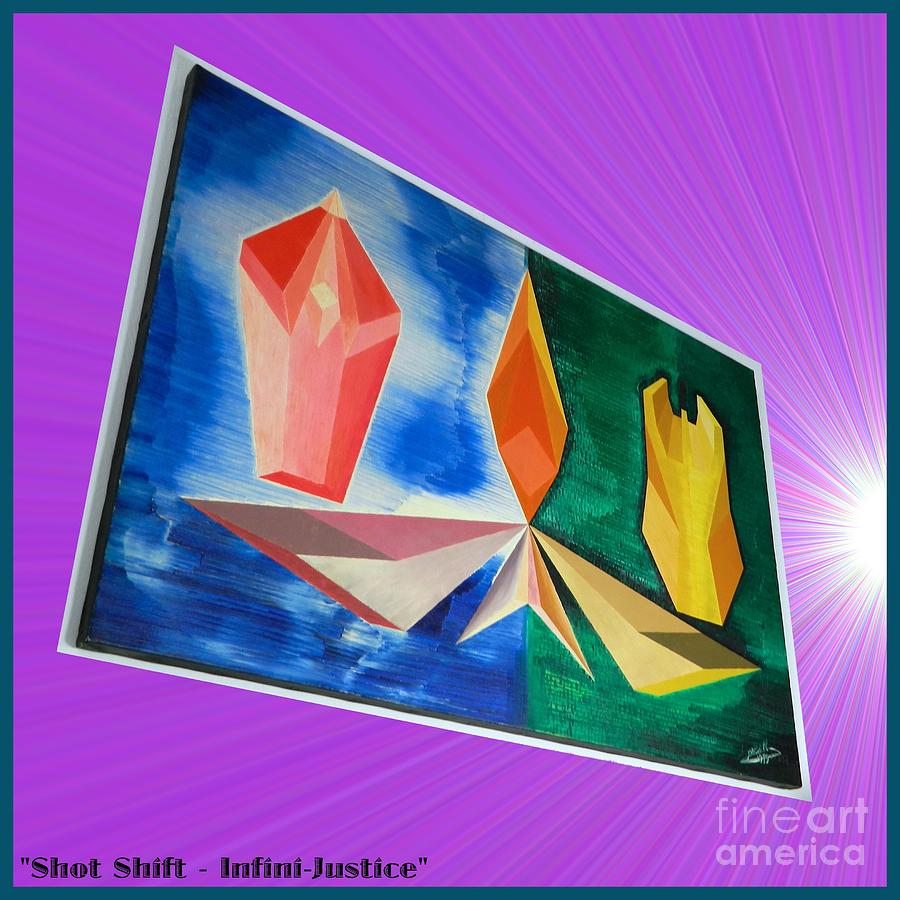 Shot Painting - Shot Shift - Infini-justice Variant by Michael Bellon