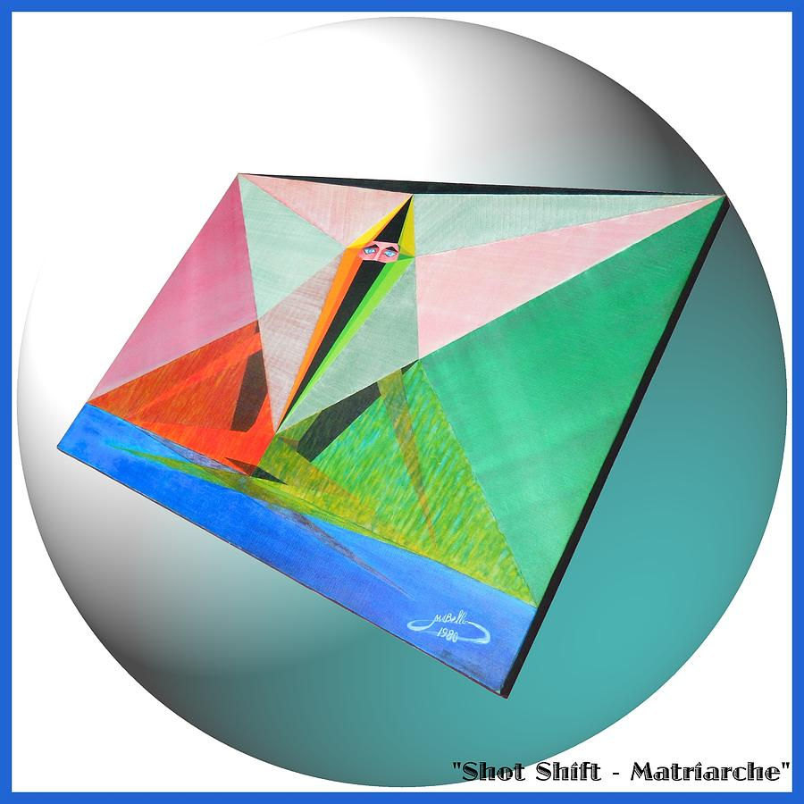 Shot Painting - Shot Shift - Matriarche Variant by Michael Bellon