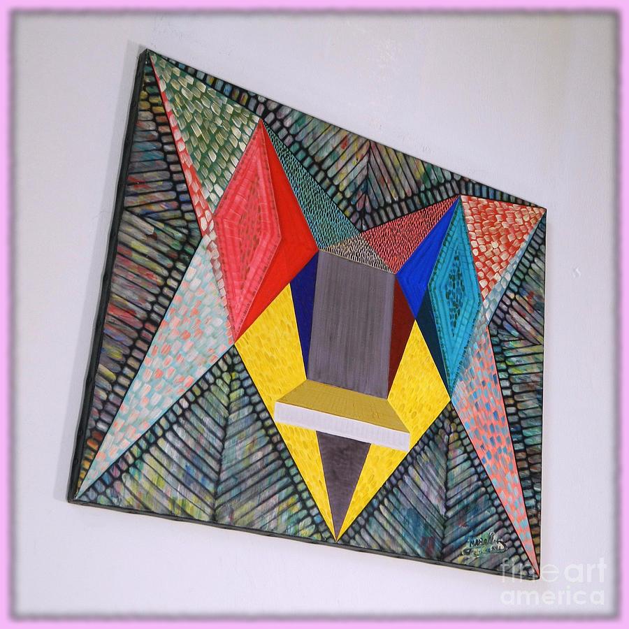 Spirituality Painting - Shot Shift - Parmi 1 by Michael Bellon