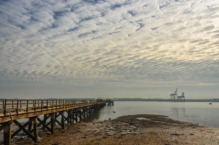Bay Photograph - Shotley Bay by Svetlana Sewell