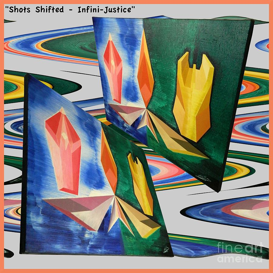 Shot Painting - Shots Shifted - Infini-justice Variant by Michael Bellon
