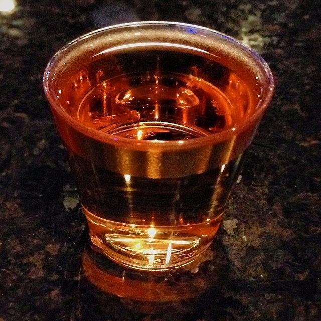 Alcohol Photograph - Shots!! #shots #fireball #whiskey by Kristine Dunn