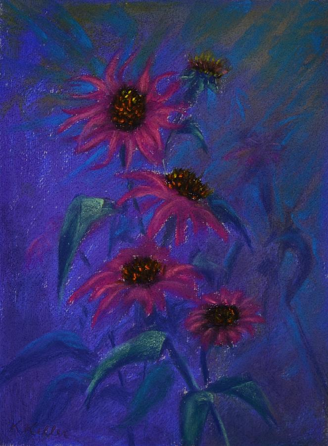 Pink Flower Painting - Show Off by Kathleen Keller