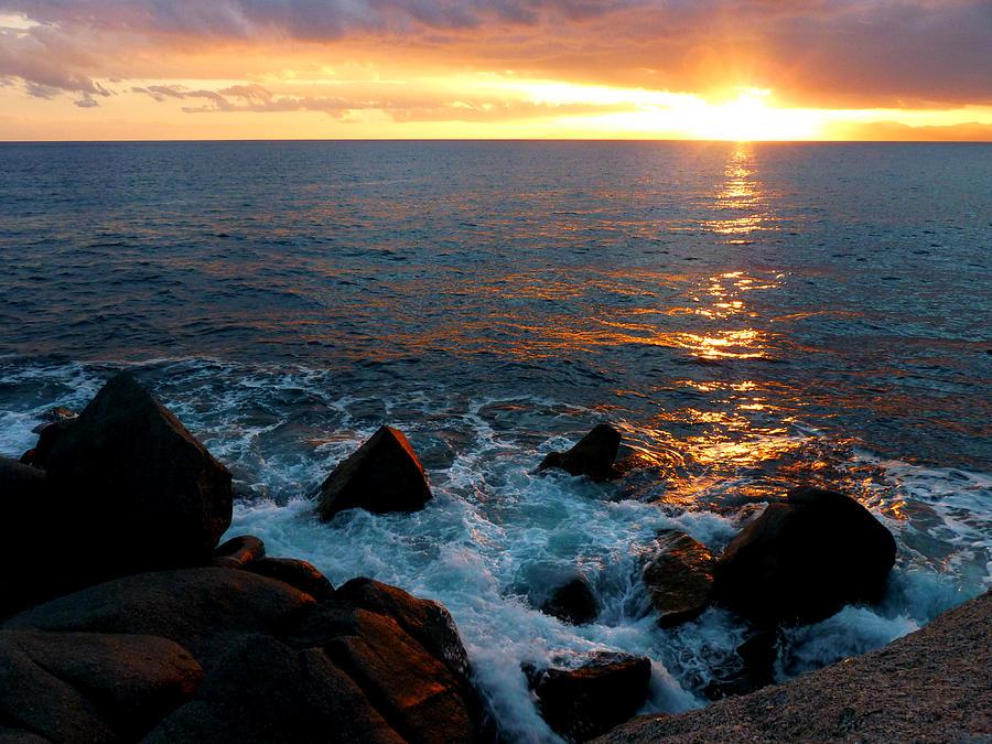 Sea Photograph - Show On by Alessio Casula
