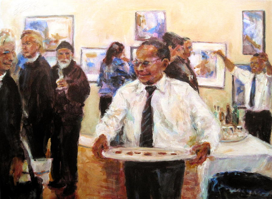 Acrylic Painting - Show Time by Chuck Berk