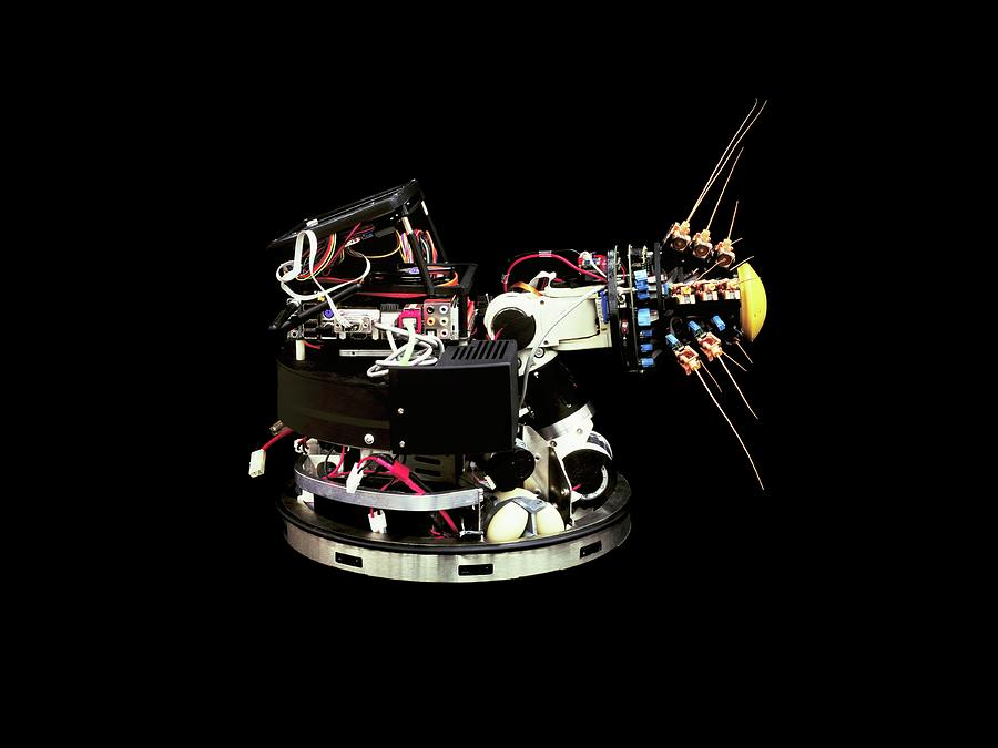 Machine Photograph - Shrewbot by Benny J/science Photo Library
