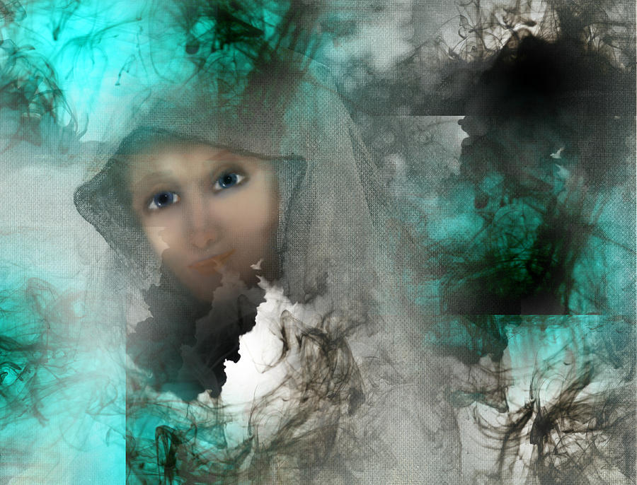 Abstract Digital Art - Shroud Of Truth by Patricia Motley
