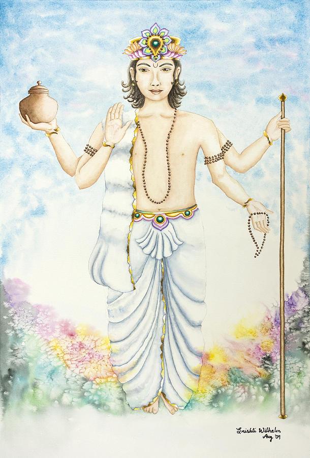 Vedic Astrology Painting - Shukra Venus by Srishti Wilhelm