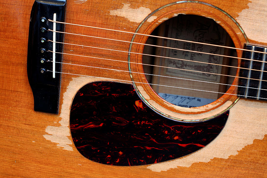 Guitar Photograph - Shut Up And Play by Steve Parr