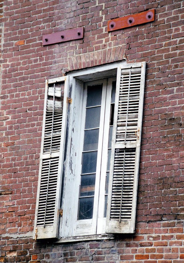 Architecture Photograph - Shutters by Glenn Aker
