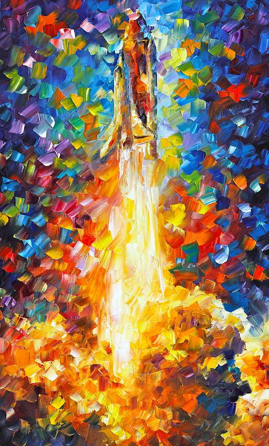 nasa rocket crashes paintings - photo #43