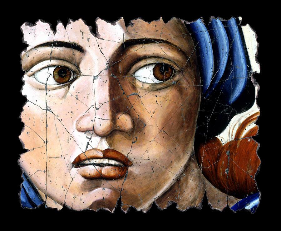 Portrait Painting - Sibyl Of Delphi by Steve Bogdanoff