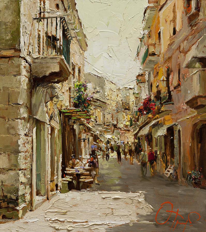 Sicilia Painting - Sicilian Noon by Oleg Trofimoff