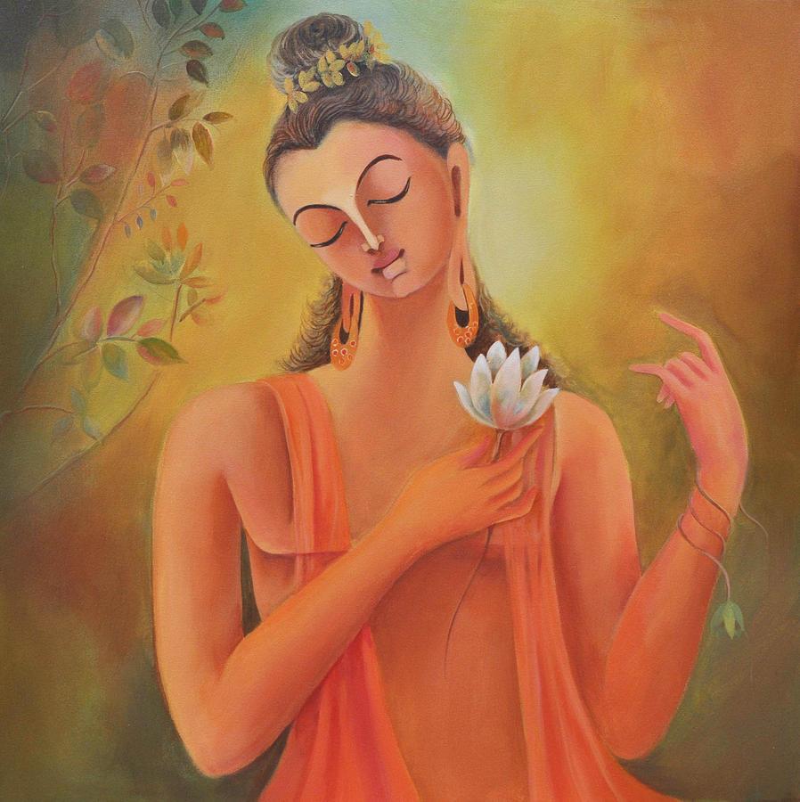 Buddha Painting - Siddhartha by Manisha Raju