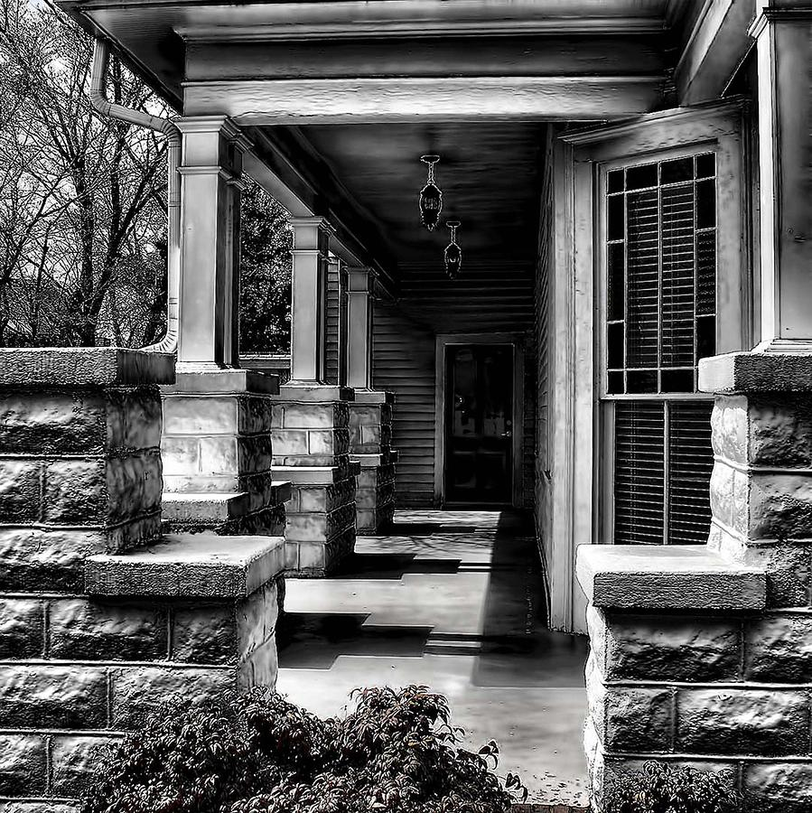 Side Porch Photograph - Side Porch by Sherry Bowen