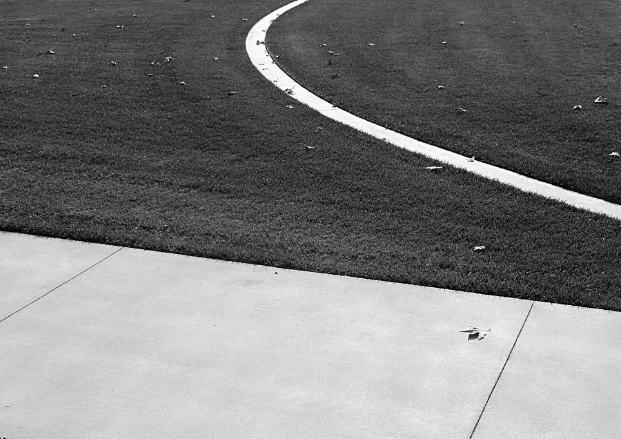 Sidewalk Photograph - Sidewalk by Eileen Shahbazian