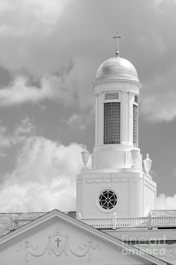 Albany Photograph - Siena College Siena Hall Cupola by University Icons