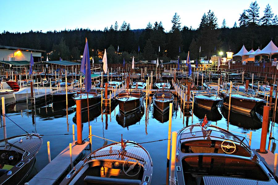 Wooden Boats Photograph - Sierra Boat Company by Steve Natale