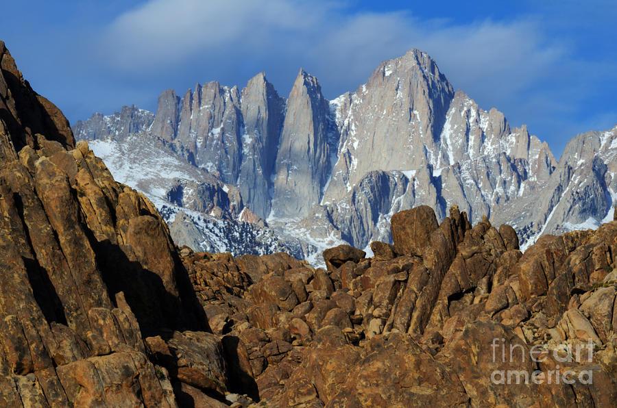Mount Whitney Photograph - Sierra Nevada California by Bob Christopher